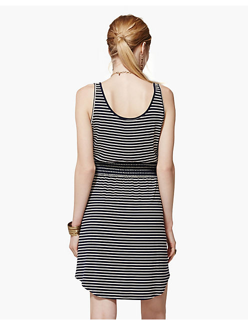 STRIPED TANK DRESS, NAVY STRIPE