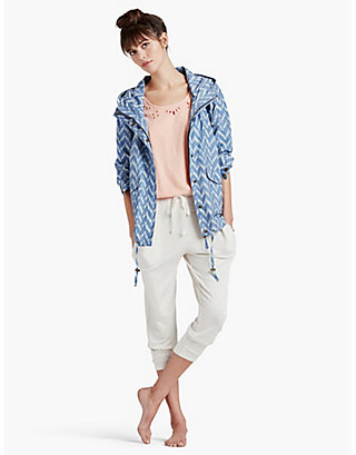 LUCKY WOVEN PRINTED JACKET