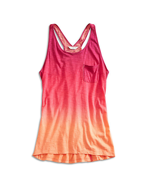 OMBRE TANK, PURPLE MULTI
