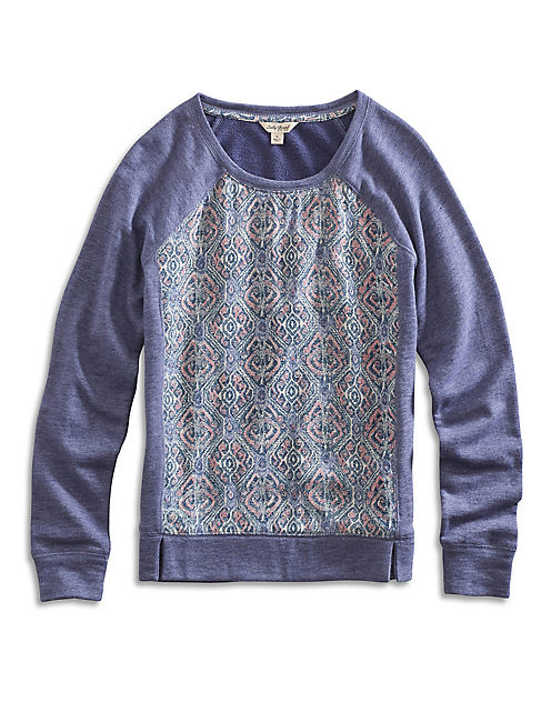 IKAT PRINTED PULLOVER,