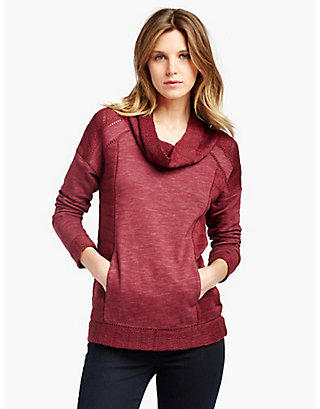 LUCKY DRAPEY SWIT MIX PULLOVER