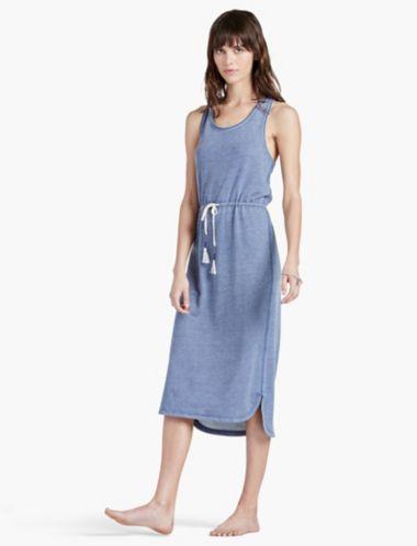 LUCKY BURNOUT DRESS