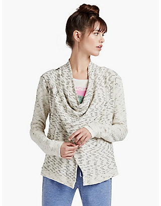 LUCKY DRAPEY WRAP JACKET