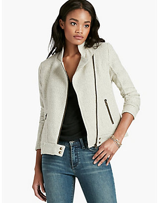 LUCKY TEXTURED ACTIVE JACKET