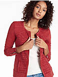 LACE MIXED JACKET, #6703 BIKING RED