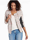 TRIBAL JACQUARD JACKET,