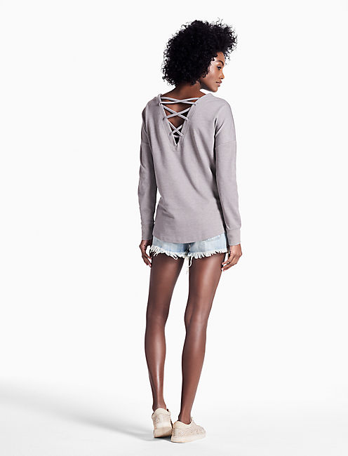 LOTUS MOON PULLOVER, GREY