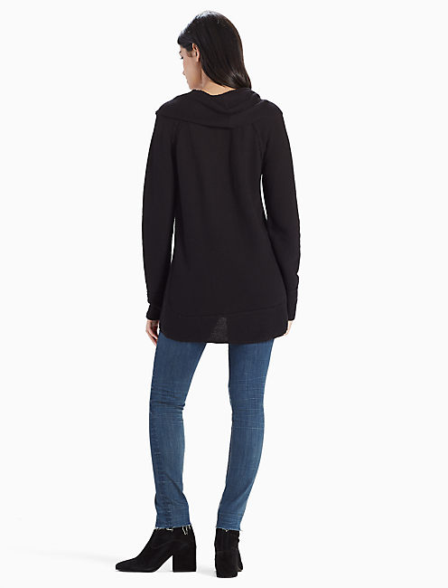 COWL NECK PULLOVER, 001 LUCKY BLACK