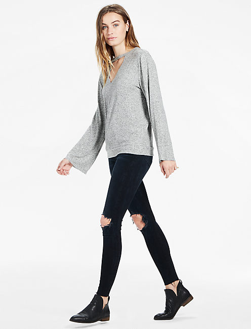 Lucky Cut Out Pullover