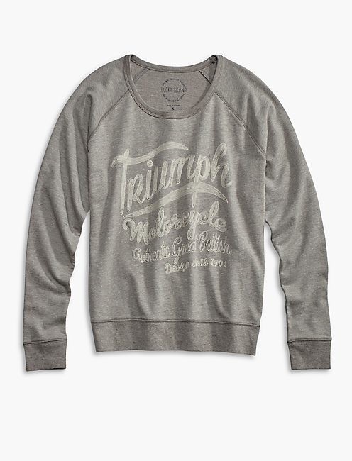 TRIUMPH DISTRESSED PULLOVER,