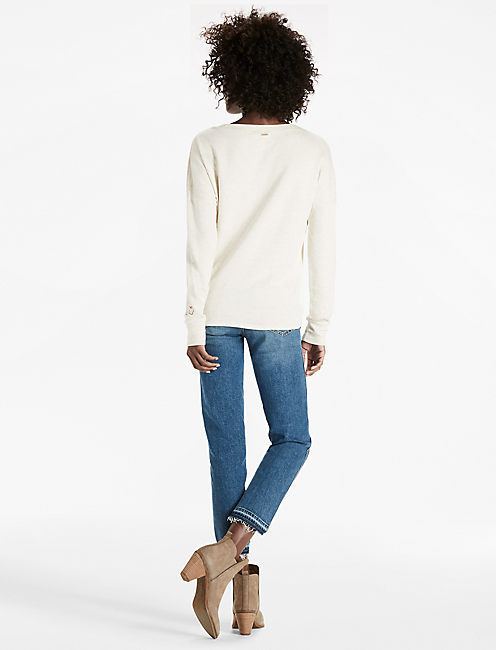 SIDE TIE PULLOVER,