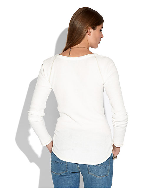 CELINE HENLEY THERMAL, LUCKY WHITE