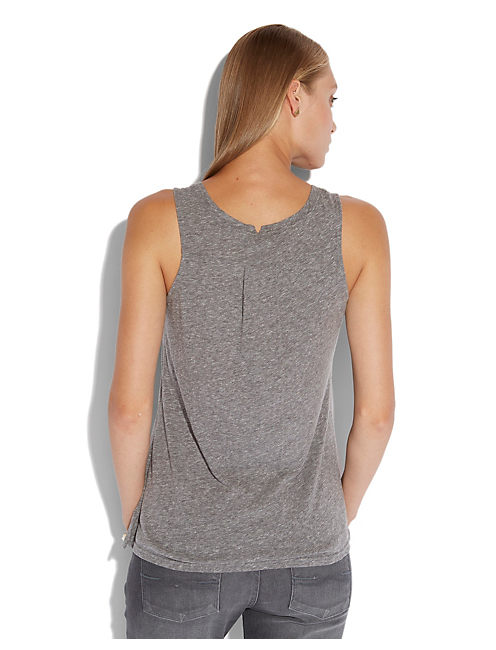 HAMSA HAND TANK, HEATHER GREY