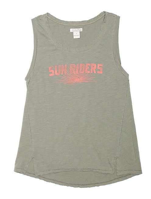 SUN RIDERS MUSCLE TEE, OLIVE NIGHT