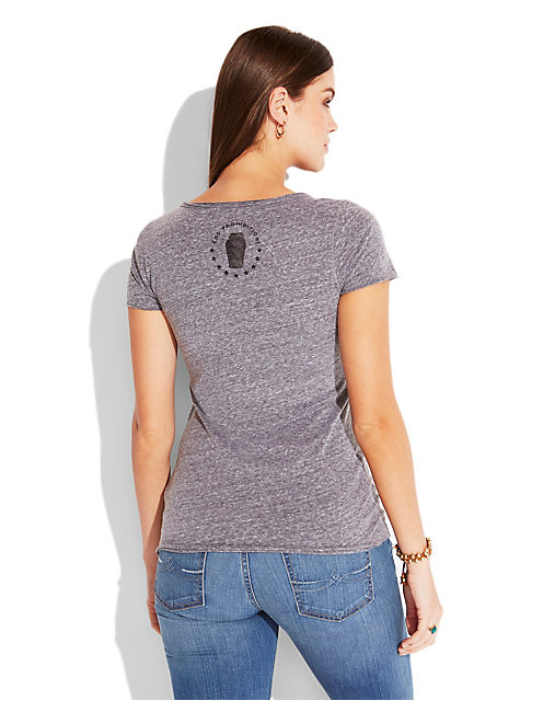 WHISKEY CURE TEE, HEATHER GREY