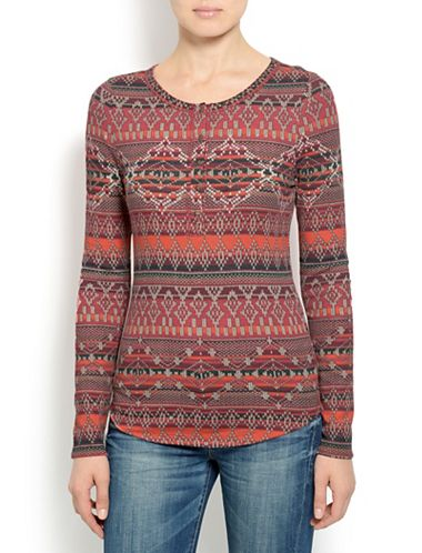 INTARSIA PRINTED THERMAL
