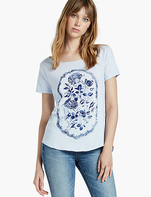 ROSEWATER FRAME TEE,
