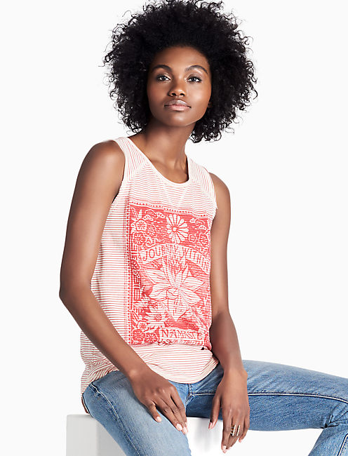 STRIPE MATCHBOX TANK,