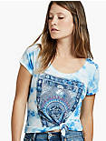 TAROT EYE TEE, BLUE MULTI