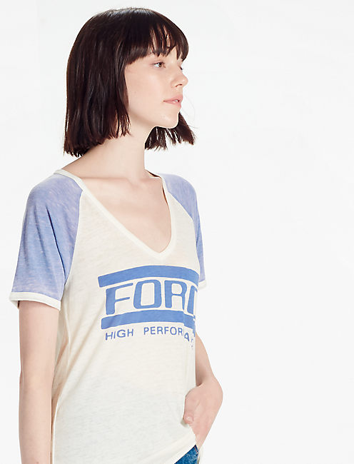 FORD TEE, MARSHMALLOW