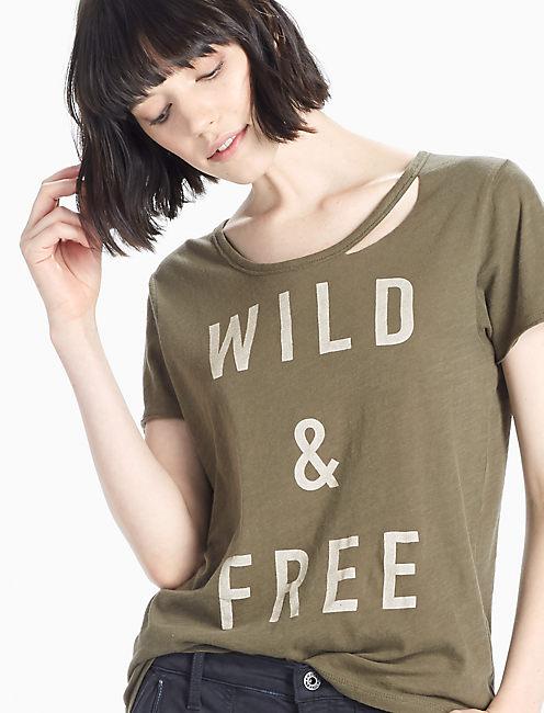 WILD & FREE TEE,