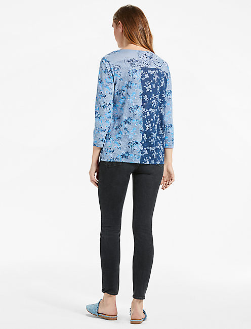 MADELINE FLORAL TEE,