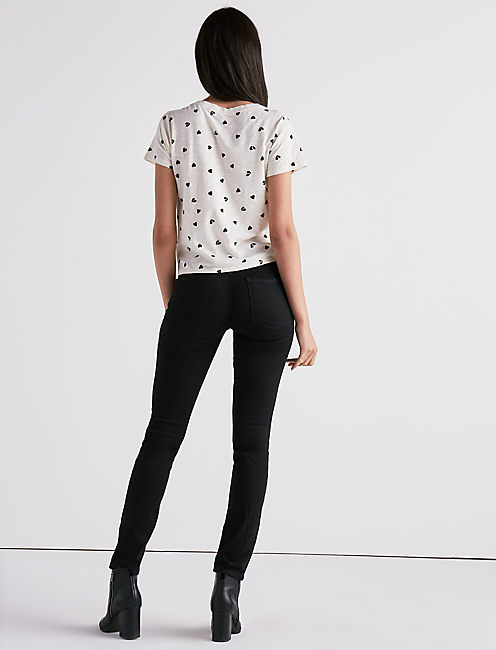 ALL OVER HEARTS TEE,