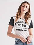 WOODSTOCK COLORBLOCK TEE,