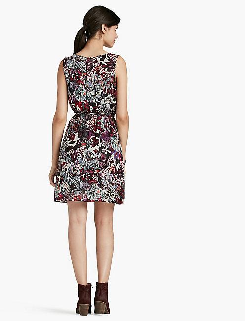 FLOWER PRINT DRESS,