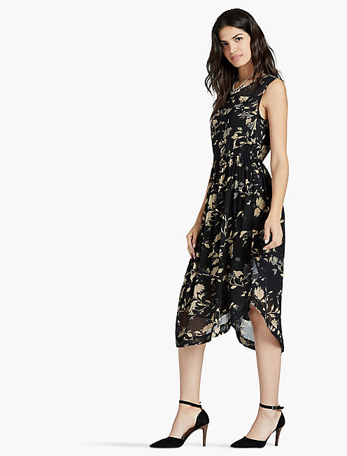 LUCKY HEATHER FLORAL DRESS