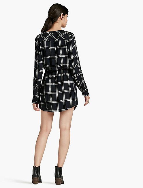 GIRLFRIEND PLAID DRESS,
