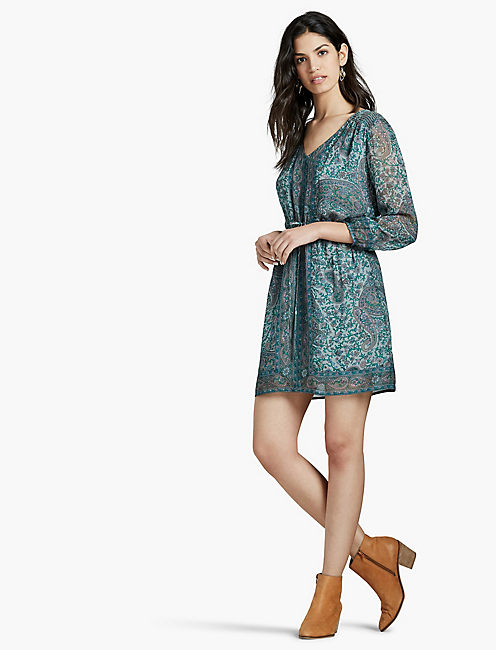 TURQUOISE SHORT DRESS,