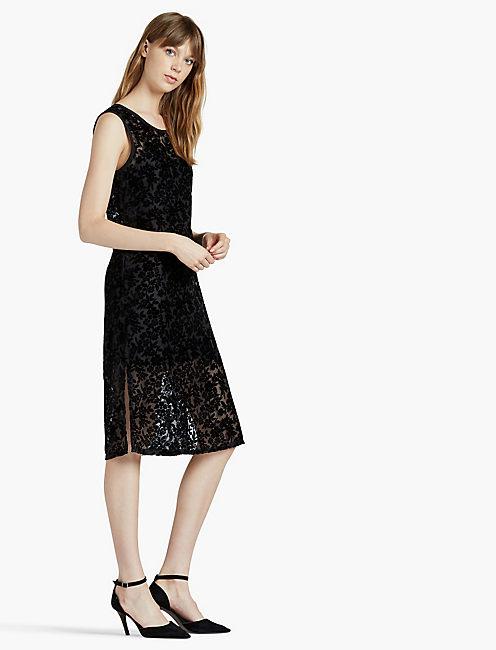 Lucky Velvet Midi Dress