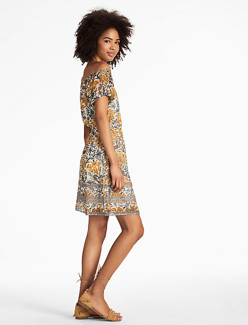 YELLOW FLOWER DRESS,