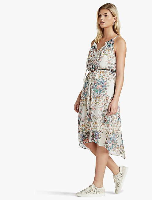 Lucky Multi Floral Dress