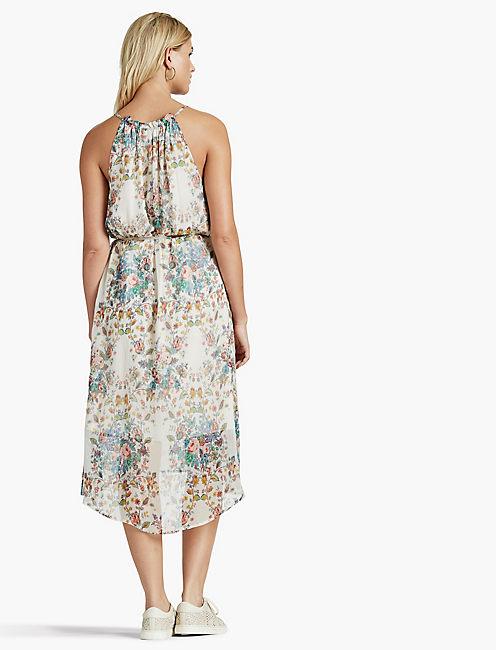 MULTI FLORAL DRESS,