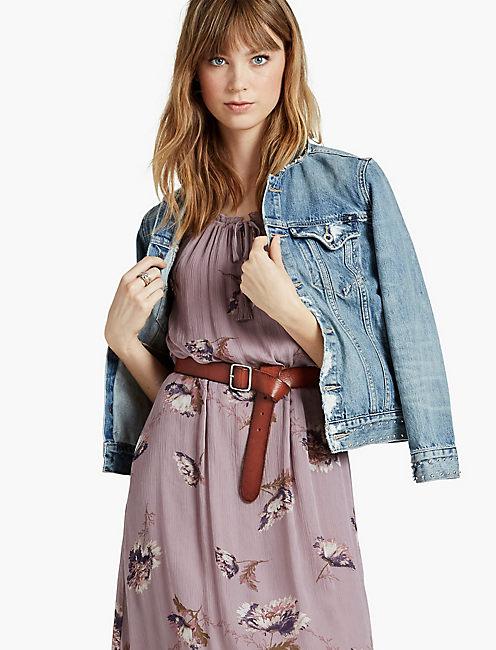FLORAL EASTER DRESS,