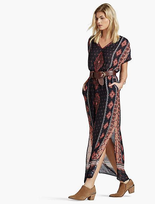 Lucky Bohemian Maxi Dress