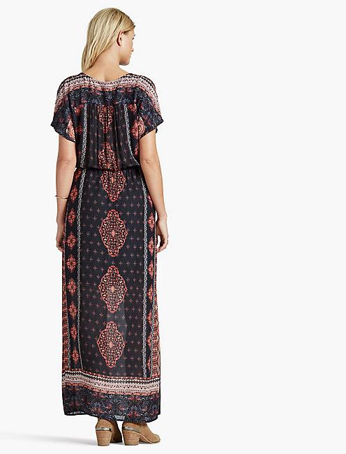 BOHEMIAN MAXI DRESS,