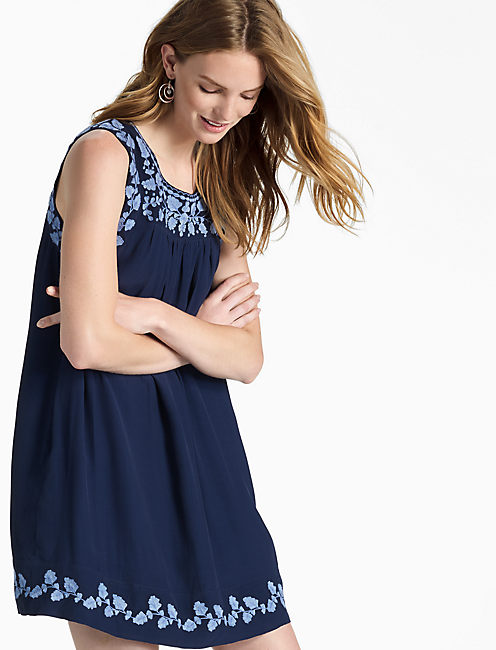 HANNAH SHIFT DRESS, AMERICAN NAVY