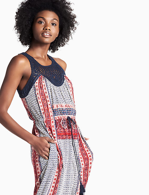 Lucky Knit Macrame Dress