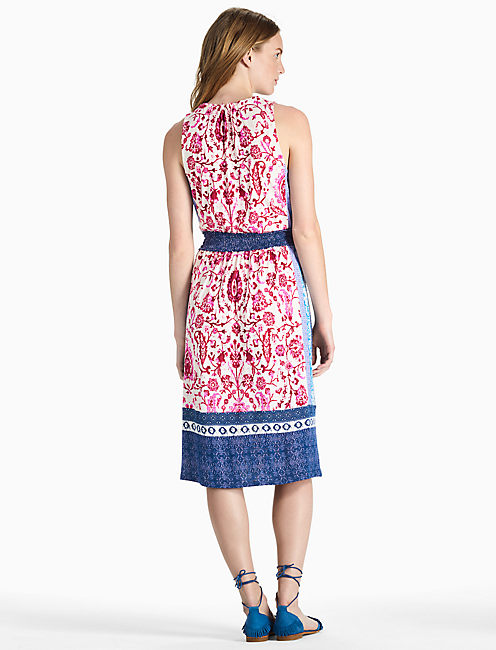 KERRY KNIT DRESS, PINK MULTI