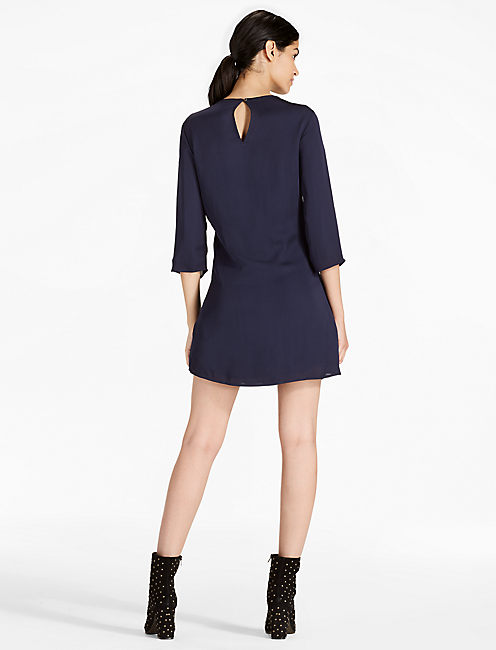 SHIRT DRESS, AMERICAN NAVY