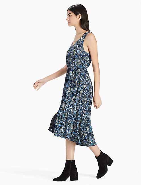 Lucky Knit Jacquard Dress