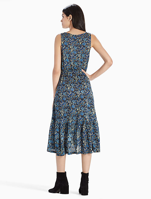 KNIT JACQUARD DRESS,