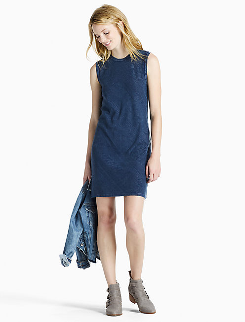 Lucky Indigo Knit Dress