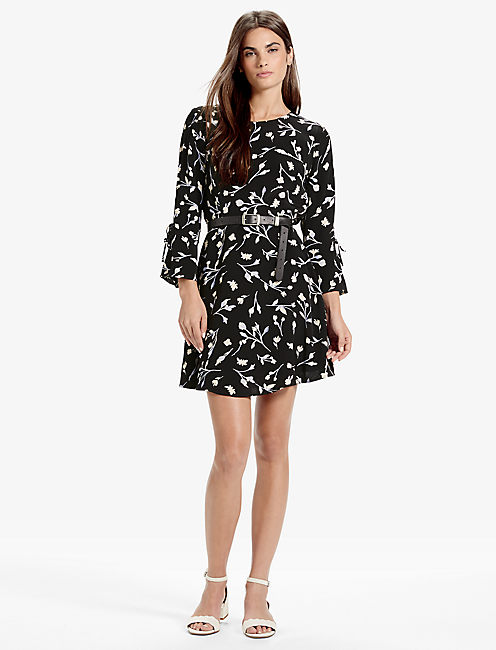 Lucky Bell Sleeve Dress