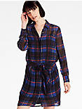 TIE SHIRT DRESS,