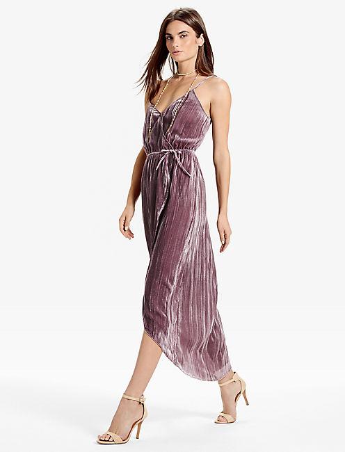 Lucky Velvet Dress