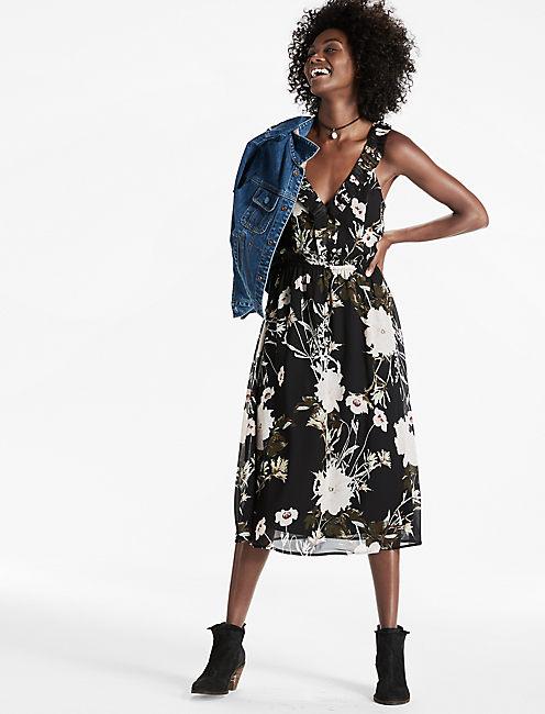 RUFFLE DRESS,